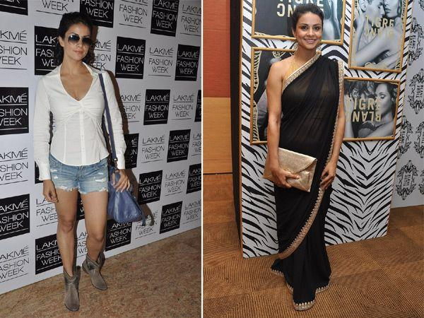 <p><strong>Gul Panag: </strong>Gul's sari appearance was a pleasant suprise for all of us. As much as we found her hot in those shorts, we couldn't help but praise her in a sari.</p>