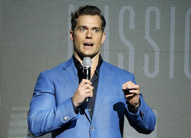 Henry Cavill is being criticized for comments he made to <em> GQ</em> Australia, telling the magazine he finds it hard to date because of the #MeToo era. (Photo: Michael Tran/FilmMagic)