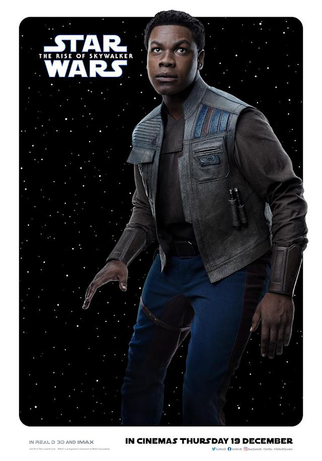 John Boyega's Finn looks set to play a more central role in <em>The Rise of Skywalker</em>. (Disney)