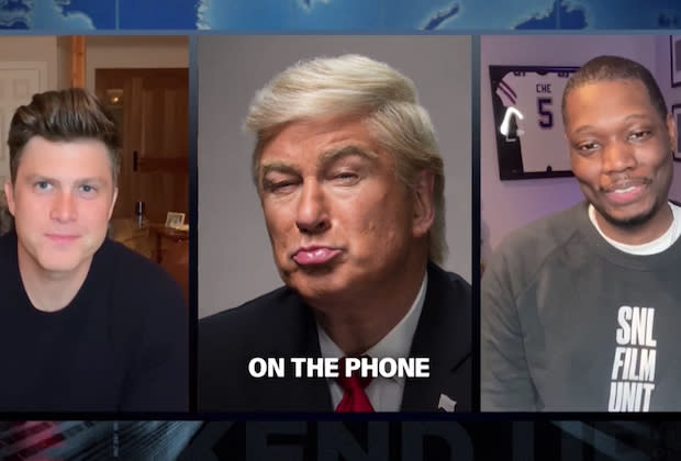 Alec Baldwin's Trump Calls Into 'Weekend Update'