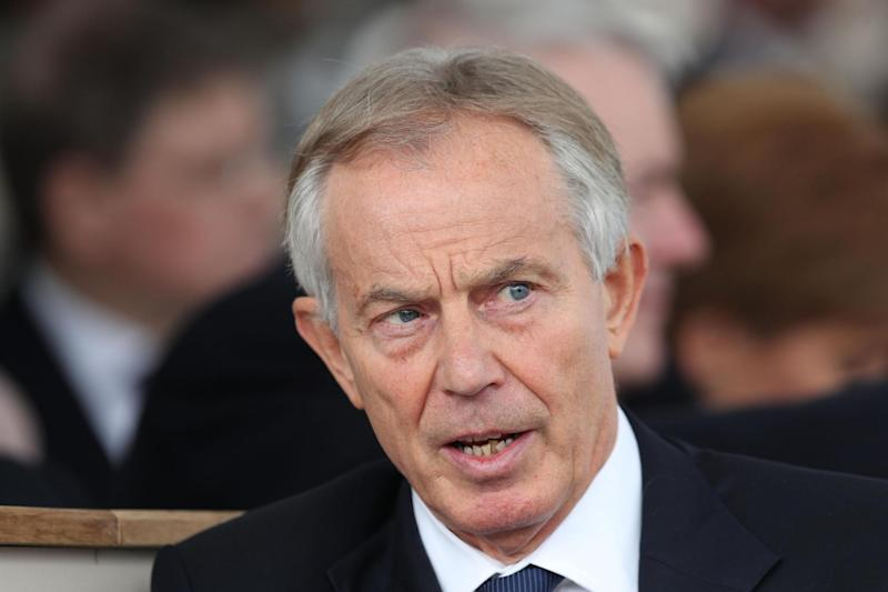 Tony Blair: The former prime minister said he was not being disloyal: PA