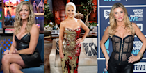 """<p>Table-flipping, crying in the bushes, screaming matches, glass-throwing and gossip that leads to all-out wars in the press—ah, the <em>Real Housewives</em>. </p><p>Bravo's beloved reality series was born as a voyeuristic, docuseries-esque look """"behind the gates"""" at how the other half lives. Somewhere along the way (perhaps during <em>The Real Housewives of Orange County</em>, season 4—thank you, Tamra and Gretchen!) the show shifted focus from the self-contained storylines of each individual cast member and their families to the frenzied relationships among these groups of powerful, opinionated women. Now, thanks to explosive fights, iconic catchphrases, and heavy-handed editing, the series can make even the most dramatic soap opera look tame. Over the years, viewers have met over 100 Housewives in 9 different cities (the tenth iteration, <em>The Real Housewives of Salt Lake City</em> is set to <a href=""""https://www.womenshealthmag.com/life/g33971139/real-housewives-of-salt-lake-city-cast/"""" rel=""""nofollow noopener"""" target=""""_blank"""" data-ylk=""""slk:premiere"""" class=""""link rapid-noclick-resp"""">premiere</a> this November)—and the drama is still at an all-time high. </p><p>To keep things interesting, the cast of each franchise is always rotating. In some cases, the women reach a point when the chaos of the show becomes too much, and they opt to call it quits. Former cast members have called the filming environment """"toxic,"""" and have accused the show of damaging their reputation and even their mental heath. For others, their time on the show comes to a halt when Bravo demotes them to """"Friend"""" status, a part-time roll that usually comes with a significant cut in pay and in air time. And for others, they've stirred up drama too intense even for Bravo, and the network shows them the door. Here are the 28 most notable <em>Housewives</em>' exits over of all time. </p>"""