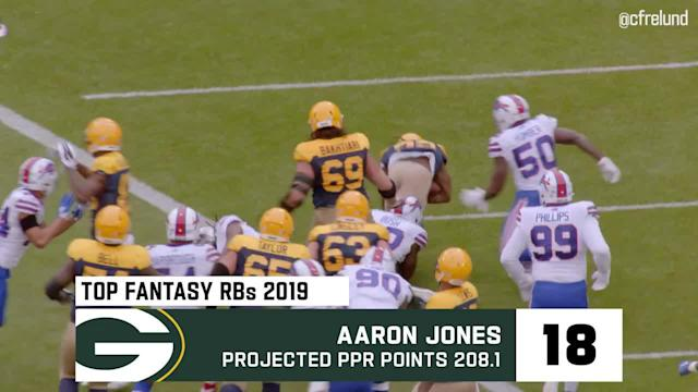 NFL Network's Cynthia Frelund breaks down her top 20 fantasy running backs of the 2019 season.