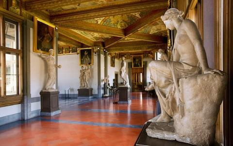 Uffizi Gallery, Florence, Italy - Credit: Getty