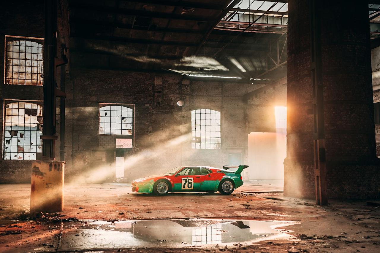 <p>According to BMW, it took Warhol less than 30 minutes to paint the entire car. Impressive, considering how great the car ended up looking.</p>