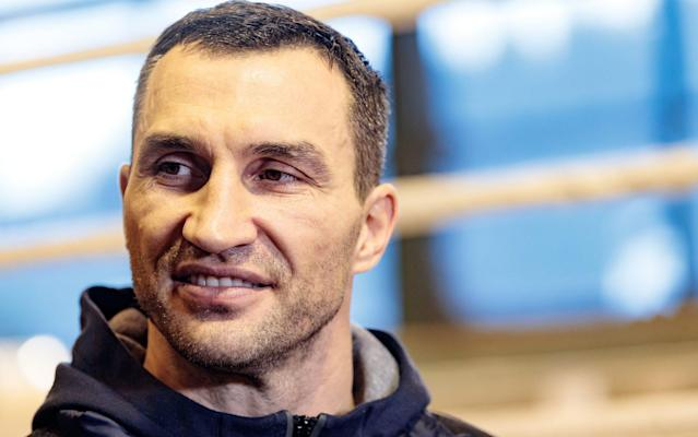 Wladimir Klitschko has said he plans to enjoy himself at Wembley - Rex Features