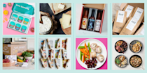 """<p>Whether you're looking for the perfect <a href=""""https://www.goodhousekeeping.com/holidays/gift-ideas/g28497189/best-gifts-for-foodies/"""" rel=""""nofollow noopener"""" target=""""_blank"""" data-ylk=""""slk:gift for the gastronomist"""" class=""""link rapid-noclick-resp"""">gift for the gastronomist</a> who has everything, or hoping to make your culinary life a little easier, a good food subscription box is an excellent option. And thanks to the huge (and growing!) popularity of meal kits, food subscription boxes and deliverable everything, there's an option for every taste and budget. If you've never tried one before, <strong><a href=""""https://www.goodhousekeeping.com/food-products/g32056950/best-meal-delivery-services/"""" rel=""""nofollow noopener"""" target=""""_blank"""" data-ylk=""""slk:meal delivery services"""" class=""""link rapid-noclick-resp"""">meal delivery services</a> come with everything you need to make a nutritious, delicious lunch or dinner for the fam</strong>. <a href=""""https://www.goodhousekeeping.com/food-products/g37435022/prepared-meal-delivery-services/"""" rel=""""nofollow noopener"""" target=""""_blank"""" data-ylk=""""slk:Prepared meal deliveries"""" class=""""link rapid-noclick-resp"""">Prepared meal deliveries</a> are convenient for busy people who have to get dinner on the table after a long day of work and helpful for beginner cooks who want to expand their repertoire because they come with clear, easy-to-follow instructions.</p><p>Speciality boxes can help your favorite foodie explore their options, too. Snack subscription boxes include much healthier and more exciting options than the office vending machine. And subscriptions for splurge items like new-to-you wine or beers, fancy cheeses or bespoke chocolates are the gift that keeps on giving all year long. Whether you're looking for a way to <a href=""""http://www.goodhousekeeping.com/food-recipes/easy/g4900/easy-make-ahead-meals/"""" rel=""""nofollow noopener"""" target=""""_blank"""" data-ylk=""""slk:make weeknight cooking easier"""" class=""""link rapid-noclick-resp"""">make weeknight"""