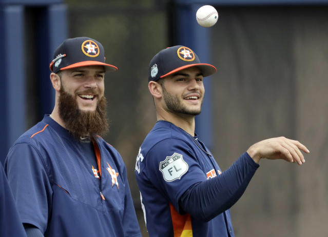 No one can touch the Astros' rotation in 2018. (AP Photo)