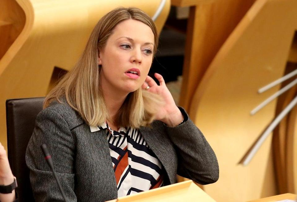 Scottish Government Europe minister Jenny Gilruth raised concerns in her letter. (Jane Barlow/PA)
