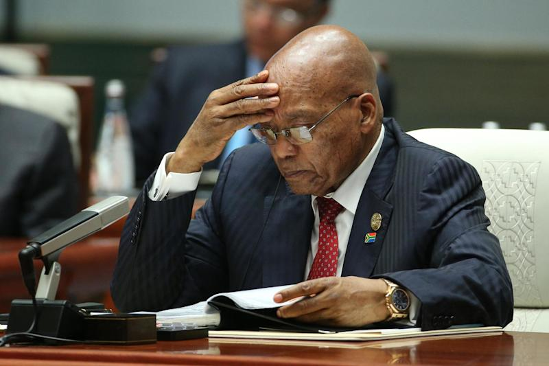 ANC has formally asked President Jacob Zuma to resign: EPA