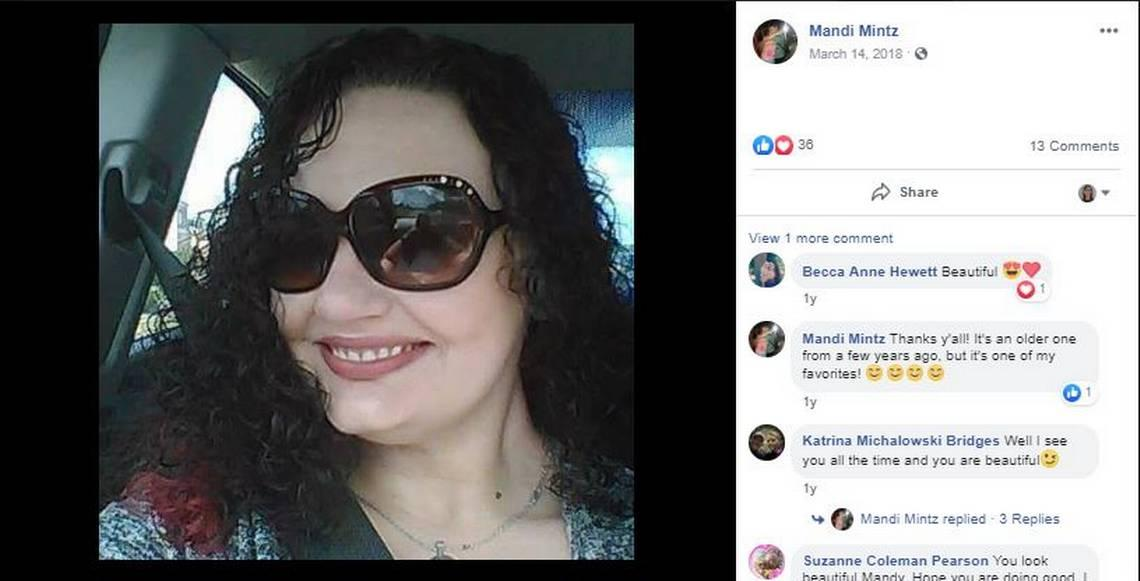 Mandi Mintz, 39, died in a shelter in Shallotte a few hours before Hurricane Florence made landfall.