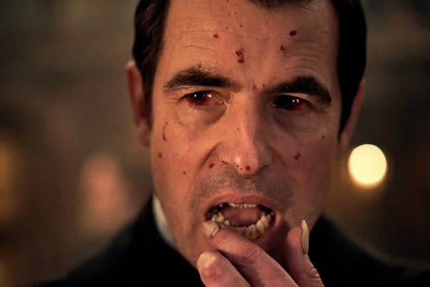 Claes Bang as Dracula (Credit: Robert Viglasky/Hartswood Films)