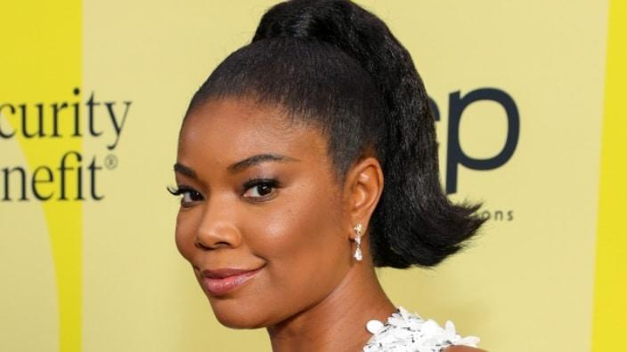 Gabrielle Union poses backstage at May 2021's Billboard Music Awards at Microsoft Theater in Los Angeles, California. (Photo: Rich Fury/Getty Images)