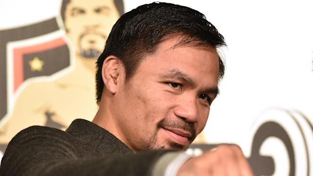 Manny Pacquiao will defend his WBO welterweight title against the Australian at Brisbane's Suncorp Stadium on July 2, it has been announced.