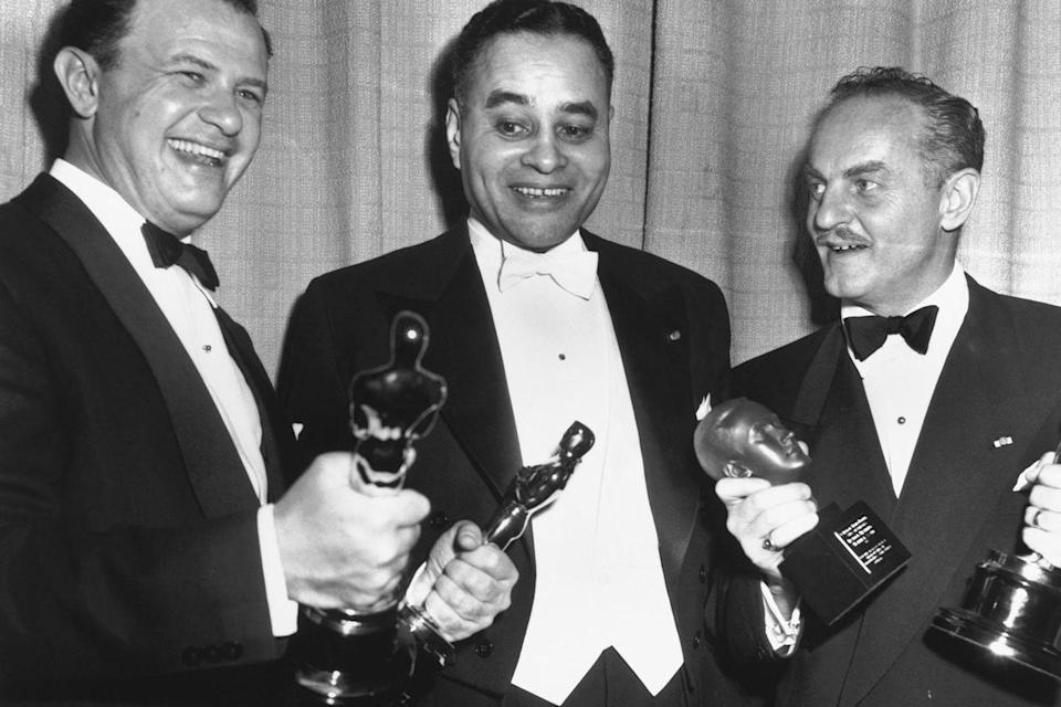 "<p>The 23rd Academy Awards was all about <em><a href=""https://www.amazon.com/All-About-Eve-Bette-Davis/dp/B004LQIA10/ref=sr_1_2?s=instant-video&ie=UTF8&qid=1547577815&sr=1-2&keywords=All+About+Eve&tag=syn-yahoo-20&ascsubtag=%5Bartid%7C10055.g.5132%5Bsrc%7Cyahoo-us"" rel=""nofollow noopener"" target=""_blank"" data-ylk=""slk:All About Eve"" class=""link rapid-noclick-resp"">All About Eve</a></em>. The film won six out of the 14 categories it was nominated in. Both Bette Davis and Anne Baxter failed to secure the Best Actress Oscar, which went to Judy Holliday for <em><a href=""https://www.amazon.com/dp/B07KYVP6DW?ref=sr_1_1_acs_kn_imdb_pa_dp&qid=1547577852&sr=1-1-acs&autoplay=0&tag=syn-yahoo-20&ascsubtag=%5Bartid%7C10055.g.5132%5Bsrc%7Cyahoo-us"" rel=""nofollow noopener"" target=""_blank"" data-ylk=""slk:Born Yesterday"" class=""link rapid-noclick-resp"">Born Yesterday</a></em>. </p>"