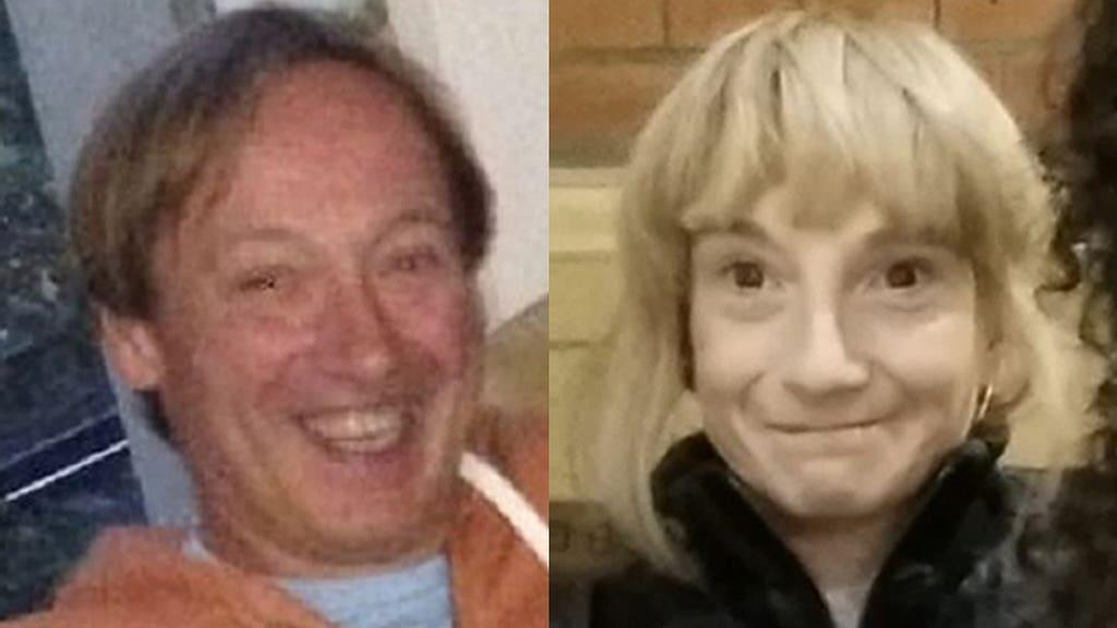 Clinton Ashmore (left) and 45-year-old Sharon Pickles (right)