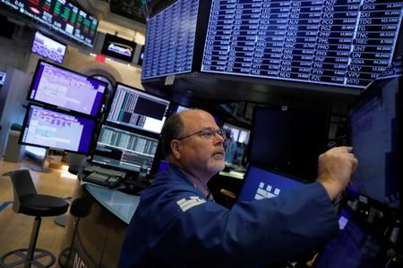 Stocks rise as recession, trade worries ebb; sterling tumbles