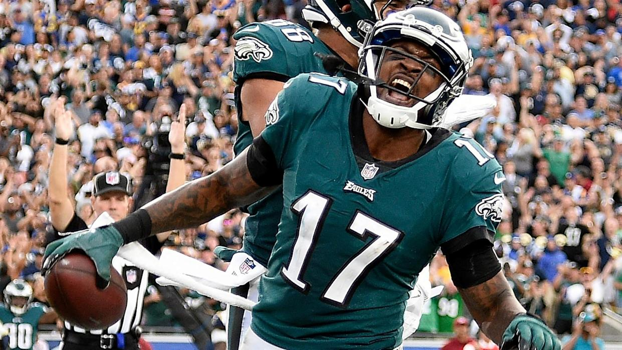 Alshon Jeffery won't be on Pianow's rosters this fall (AP)