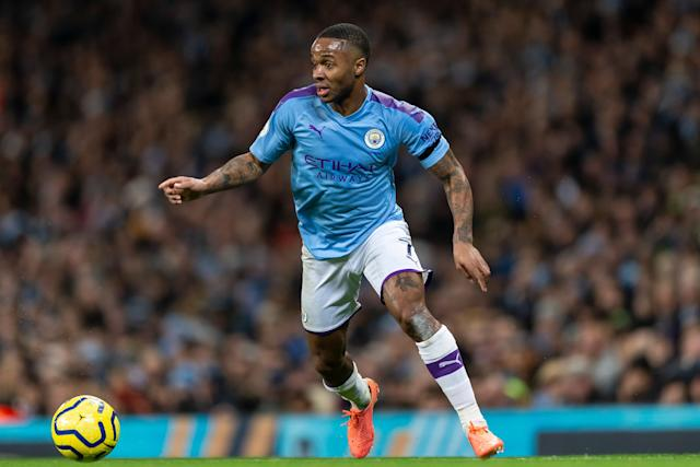 One of the men made a racist comment towards Manchester City winger Raheem Sterling  (Photo: Daniel Chesterton/Offside via Getty Images)