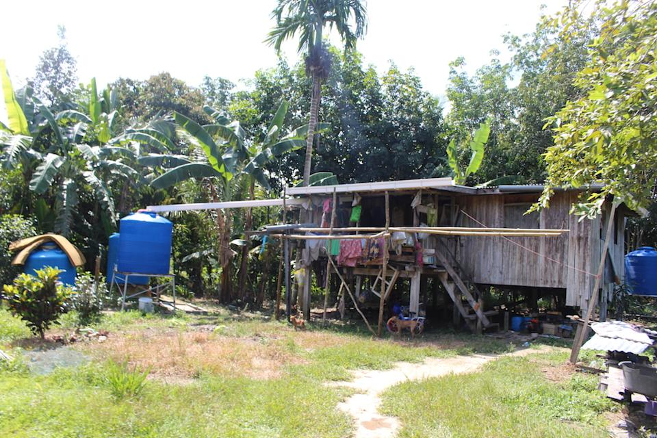 Houses in Kampung Suang Duyung, Pitas are spread out which makes it harder to arrange for basic infrastructure like water and electricity to them. — Picture by Julia Chan