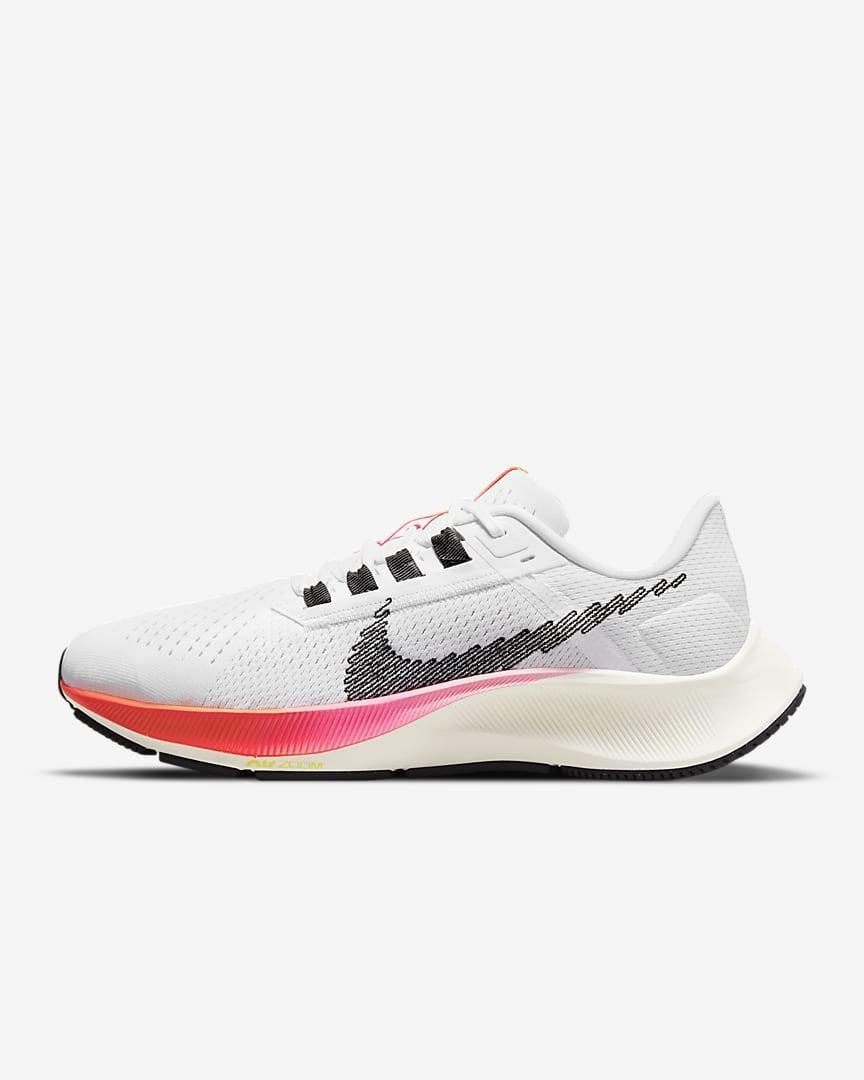 """<p>Perri Konecky, POPSUGAR senior editor of trending and viral features, likes her <span>Nike Air Zoom Pegasus 38</span> ($120) sneakers because of the comfort they bring (they're cushioned for running). """"I wear them on the treadmill and for long walks and jogs outdoors,"""" she said. """"They're a tiny bit wider than typical Nike shoes, so my toes don't feel as constrained, but they are breathable enough to nurture each of my strides.""""</p>"""