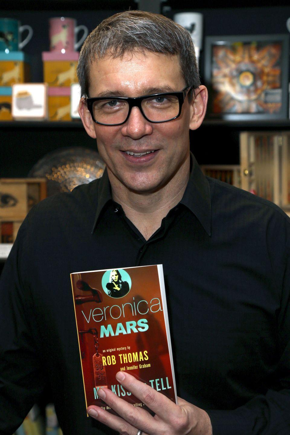"<p>Usually the book comes first, but not in the case of <em>Veronica Mars</em>. The <a href=""https://www.penguinrandomhouse.com/series/DD4/veronica-mars-series"" rel=""nofollow noopener"" target=""_blank"" data-ylk=""slk:two accompanying novels"" class=""link rapid-noclick-resp"">two accompanying novels</a> were published in 2014, and the audiobooks were read by Kristen. </p>"