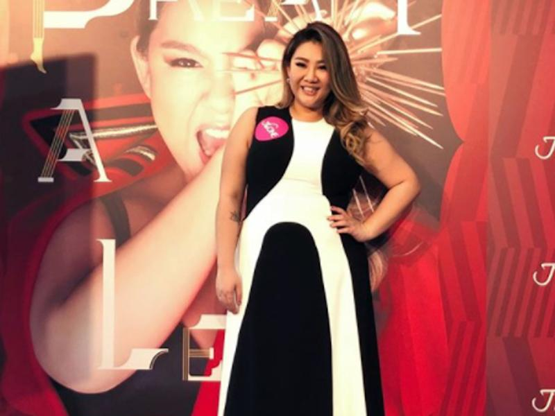 Joyce Cheng To Perform At Concert In Flat Shoes