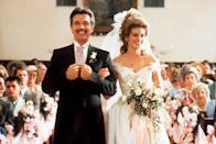 "<p>Tearjerker <em>Steel Magnolias </em>came out in 1989, which was memorable not only for Julia Roberts' character's over-the-top wedding ceremony, which looked like it had been ""hosed down with Pepto-Bismol,"" but also for bringing attention to the Southern tradition of groom's cakes shaped like armadillos.</p>"