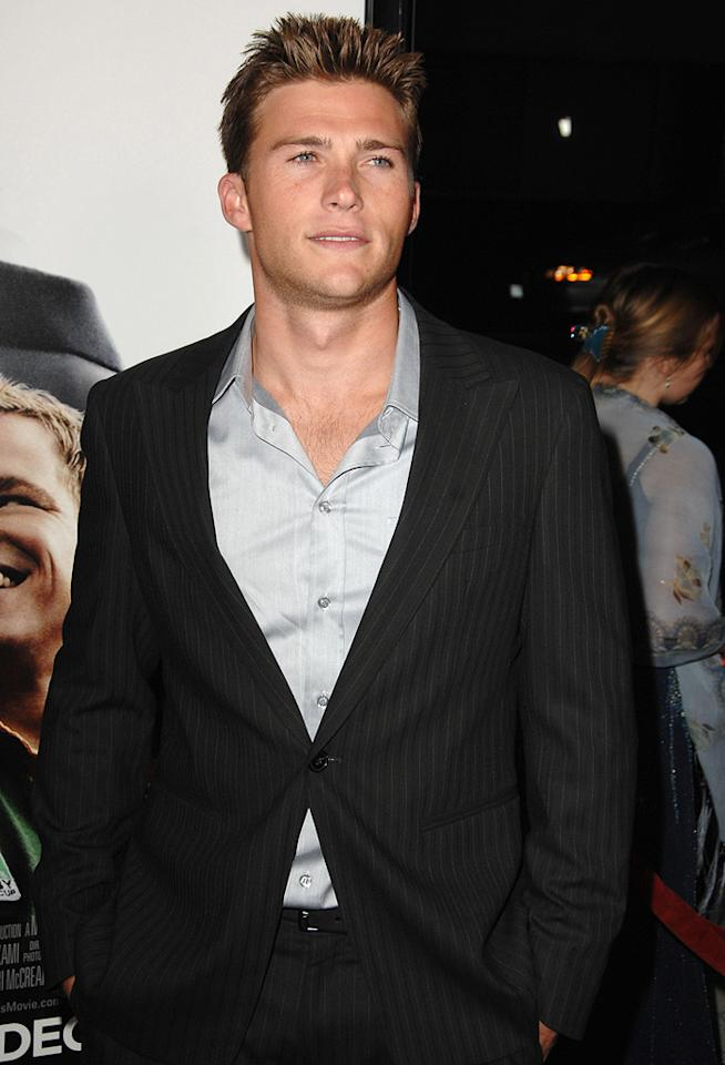 "<a href=""http://movies.yahoo.com/movie/contributor/1809780408"">Scott Eastwood</a> at the Los Angeles premiere of <a href=""http://movies.yahoo.com/movie/1810073710/info"">Invictus</a> - 12/03/2009"