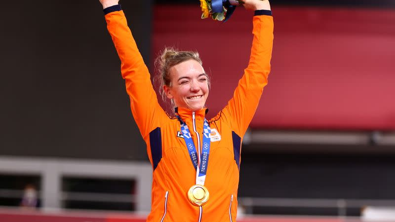 Cycling - Track - Women's Keirin - Medal Ceremony