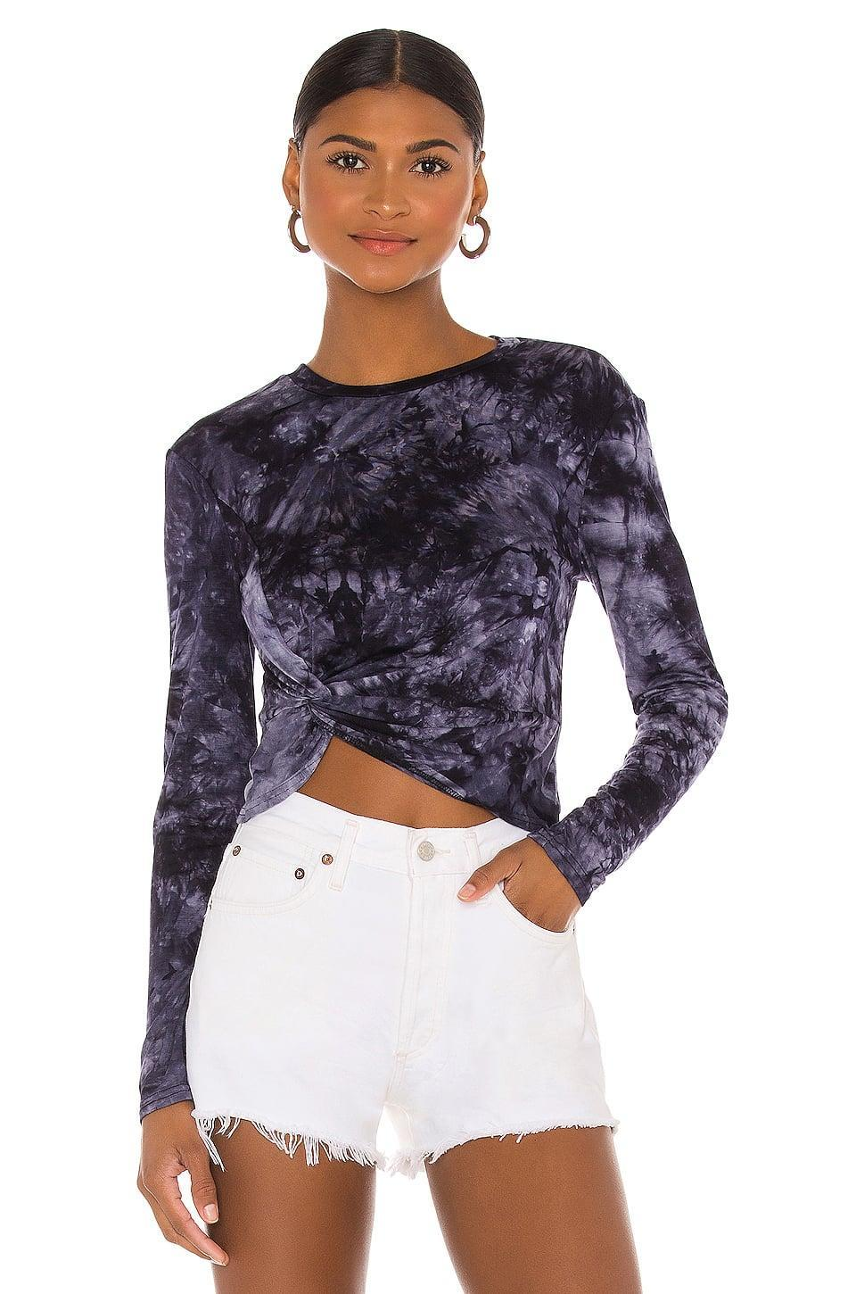 <p>They'll want to wear this cute <span>Superdown Maria Twist Front Top</span> ($48) every day.</p>