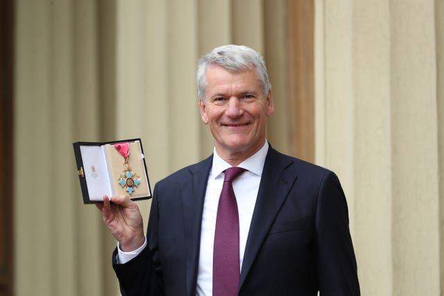 David Gill is standing for re-election to the UEFA executive committee