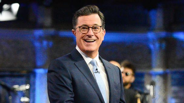 PHOTO: Stephen Colbert is pictured on 'The Late Show with Stephen Colbert,' Aug. 3, 2017. (Scott Kowalchyk/CBS via Getty Images)