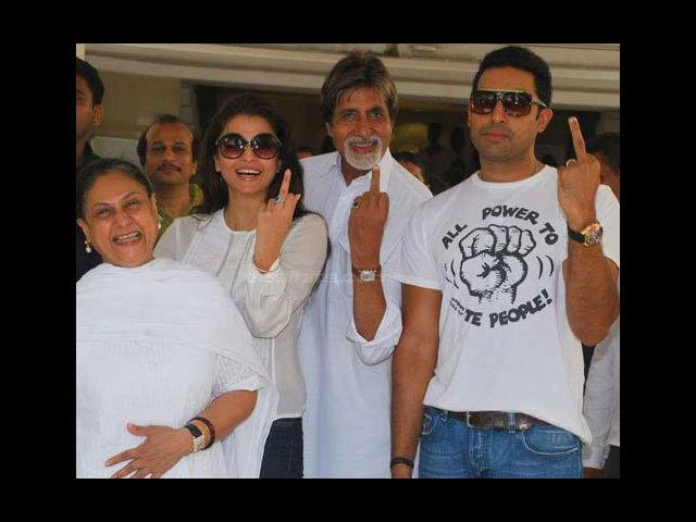 <b>The Bachchans</b><br>The Bachchan family is considered to be the first family of Bollywood despite not having a huge line-up of Bollywood stars like the Kapoors. The Bachchan family, initially, comprised of actors Amitabh Bachchan, Jaya Bachchan and their son, Abhishek Bachchan. However, this family got a huge boost after Aishwarya Rai became a part of this clan after her marriage to Abhishek Bachchan.