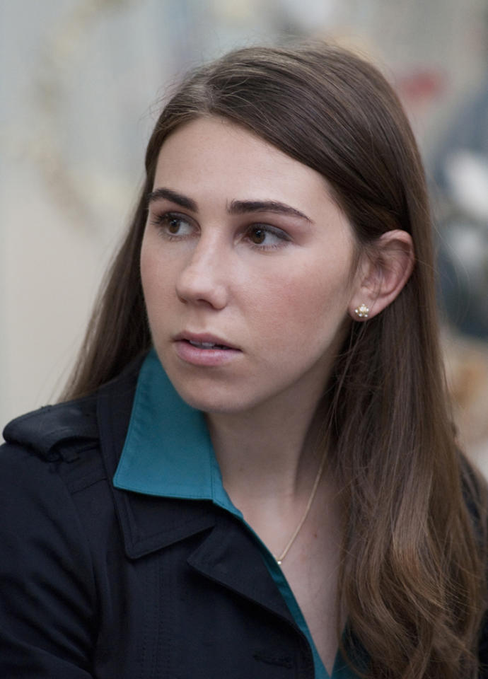 """Rounding out the quartet as talkative virgin Shoshanna, <b>Zosia Mamet </b>is probably the most familiar face on """"Girls."""" She's had recurring roles on """"Mad Men"""" (as Peggy's lesbian friend Joyce), """"Parenthood,"""" and """"The United States of Tara,"""" and appeared in films like """"The Kids Are All Right"""" and """"Greenberg."""" And yes, she has a famous dad, too: renowned playwright David Mamet. But the Mamet name doesn't necessarily guarantee a smooth path to stardom. She tells the Huffington Post, """"One of my first auditions I ever had, an older director told me how much he hated my dad. I was like, 'That's weird'... I'm proud of where I came from, but it's made for some interesting moments."""""""