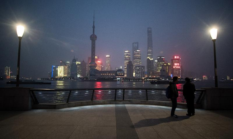 China's economy in 2015 slumped to its lowest annual expansion rate in 25 years (AFP Photo/Johannes Eisele)