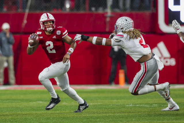Ohio State defensive end Chase Young has made life miserable for the opposition this season. (Getty Images)