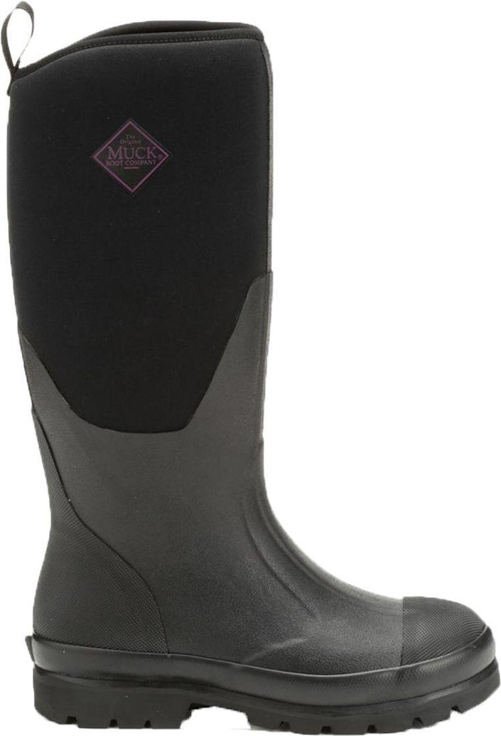 """<p><strong>Muck Boots</strong></p><p>dickssportinggoods.com</p><p><strong>$104.99</strong></p><p><a href=""""https://go.redirectingat.com?id=74968X1596630&url=https%3A%2F%2Fwww.dickssportinggoods.com%2Fp%2Fmuck-boots-womens-chore-tall-waterproof-work-boots-17mbowwchrtllblkxfbo%2F17mbowwchrtllblkxfbo&sref=https%3A%2F%2Fwww.thepioneerwoman.com%2Ffashion-style%2Fg34010656%2Fbest-muck-boots-for-women%2F"""" rel=""""nofollow noopener"""" target=""""_blank"""" data-ylk=""""slk:Shop Now"""" class=""""link rapid-noclick-resp"""">Shop Now</a></p><p>The official Muck Boots brand is actually Ree's favorite. In fact, she's outfitted the whole Drummond crew in this style in years past. """"I used to give the kids a new pair every year!"""" she says. </p>"""