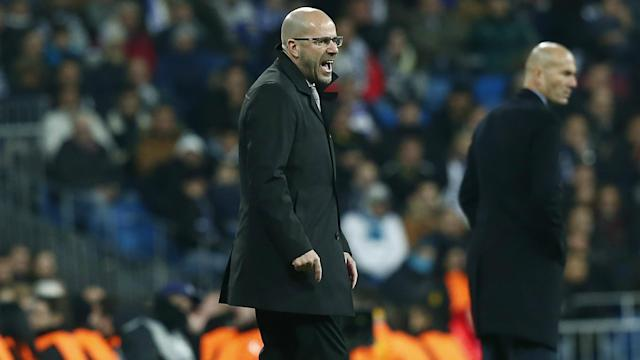 Borussia Dortmund boss Peter Bosz played down Real Madrid's tag as favourites for the Champions League title.