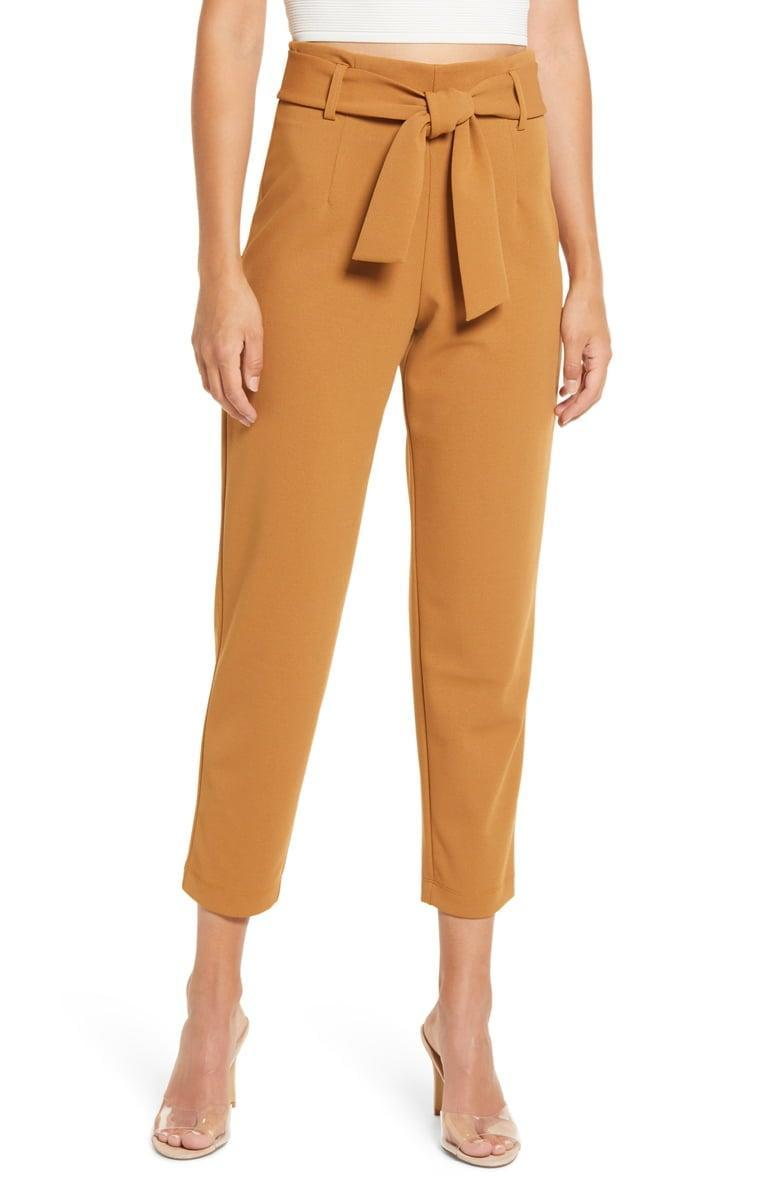 <p><span>Leith Belted Tapered Pants</span> ($35, originally $59)</p>