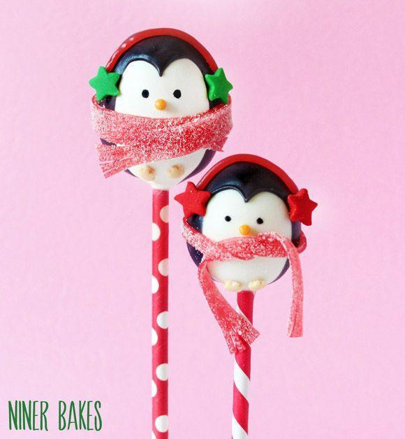"""<p>These pint-sized penguins are <em>almost</em> too precious to eat!</p><p><strong>Get the recipe at <a href=""""http://www.ninerbakes.com/2013/12/24/tutorial-how-to-make-the-sweetest-winter-penguin-cake-pops/"""" rel=""""nofollow noopener"""" target=""""_blank"""" data-ylk=""""slk:Niner Bakes"""" class=""""link rapid-noclick-resp"""">Niner Bakes</a>.</strong></p><p><a class=""""link rapid-noclick-resp"""" href=""""https://www.amazon.com/Bakerpan-Food-Coloring-Markers-Black/dp/B01N2H7T60?tag=syn-yahoo-20&ascsubtag=%5Bartid%7C10050.g.22841709%5Bsrc%7Cyahoo-us"""" rel=""""nofollow noopener"""" target=""""_blank"""" data-ylk=""""slk:SHOP EDIBLE INK PENS"""">SHOP EDIBLE INK PENS</a></p>"""