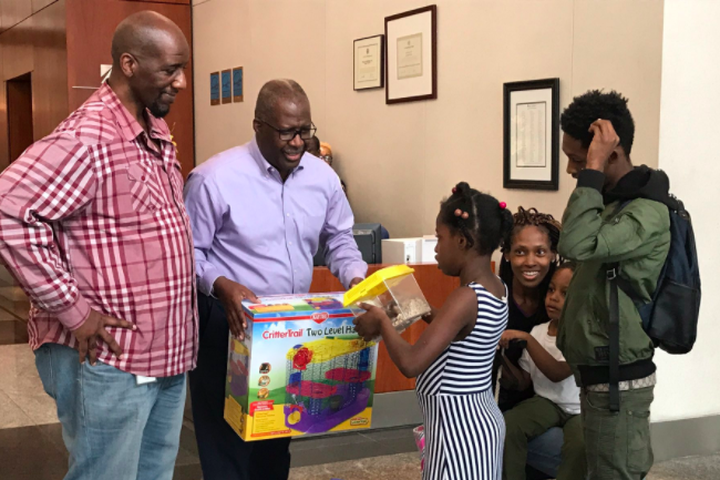 """<img alt=""""""""/><p>Just when you think you've lost hope in the world, a group of people came together over the weekend to make a young girl's wish come true.</p> <p>Utility company Potomac Electric Power Company (Pepco) accidentally received an 8-year-old girl's letter asking for a hamster from Petco, an animal supply company, which only makes sense since the names are so easily similar to one another.</p> <div><p>SEE ALSO: <a rel=""""nofollow"""" href=""""http://mashable.com/2017/09/12/nurses-save-girls-birthday/?utm_campaign=Mash-BD-Synd-Yahoo-Watercooler-Full&utm_cid=Mash-BD-Synd-Yahoo-Watercooler-Full"""">Nurses save this 3-year-old girl's birthday party</a></p></div> <p>According to<em> </em><a rel=""""nofollow"""" href=""""https://www.upi.com/Odd_News/2017/09/24/Utility-company-Pepco-buys-hamster-for-girl-after-Petco-letter-goes-astray/5501506271865/?utm_source=sec&utm_campaign=sl&utm_medium=2""""><em>UPI</em></a>, the letter reads as follows:</p>    <p>This little girl deserves a hamster—or two—for this thoughtful letter. She has some goals put in place for this.</p> <p>Instead of placing the letter to the side, Pepco, with the help from Petco, decided to fulfill Serenity's wish and buy her a hamster. They also included a home and accessories for the new pet.</p> <div><div><blockquote> <p>Serenity wrote <a rel=""""nofollow"""" href=""""https://twitter.com/Petco"""">@Petco</a> asking for a hamster. But her letter came to us <a rel=""""nofollow"""" href=""""https://twitter.com/PepcoConnect"""">@PepcoConnect</a>. Our customer service reps made it happen. <a rel=""""nofollow"""" href=""""https://twitter.com/hashtag/PepcoHamster?src=hash"""">#PepcoHamster</a> <a rel=""""nofollow"""" href=""""https://t.co/DjJmyG9kIu"""">pic.twitter.com/DjJmyG9kIu</a></p> <p>— Cynthia McCabe (@PHICynthia) <a rel=""""nofollow"""" href=""""https://twitter.com/PHICynthia/status/911307072930803712"""">September 22, 2017</a></p> </blockquote></div></div> <p>Cue the <em>awws</em>.</p> <div><div><blockquote> <p>This furry guy not only has a new home, but also some new friend"""