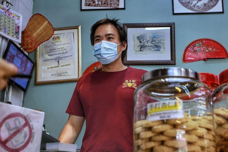 Melvin Chan speaks during an interview at his shop in Kuala Lumpur February 11, 2021. ― Picture by Ahmad Zamzahuri