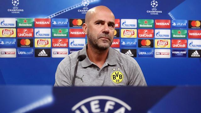 Borussia Dortmund head coach Peter Bosz conceded his side's hopes of reaching the Champions League knockout round are fading.