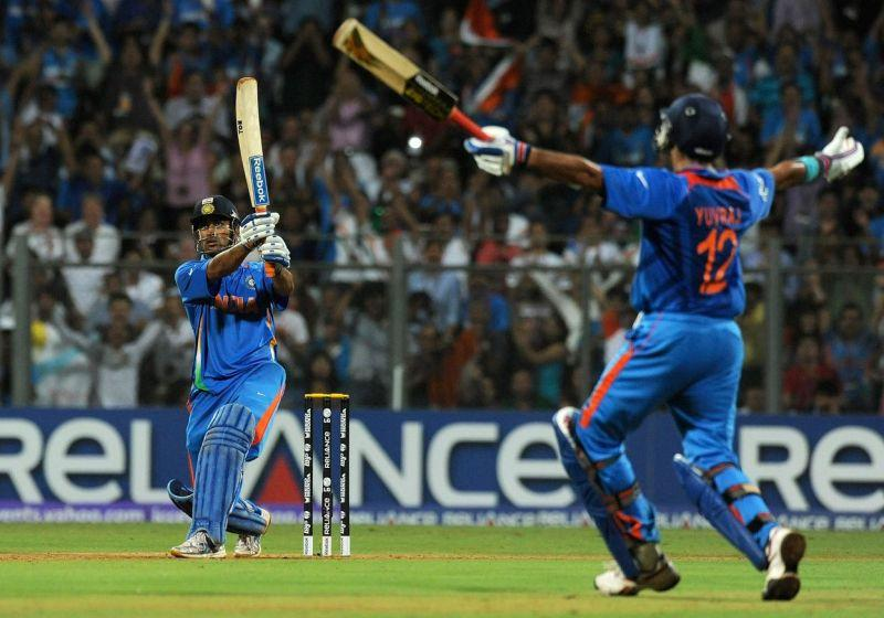 The shot that will go down in the history of Indian cricket