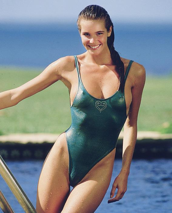 "<p>A leggy blonde Australian known within the industry as ""The Body,"" Macpherson appeared on the cover of the<em> Sports Illustrated </em>Swimsuit Issue a record five times. She also kept a foot in the high-fashion world, walking runways for designers like Azzedine Alaïa and John Galliano.</p>"