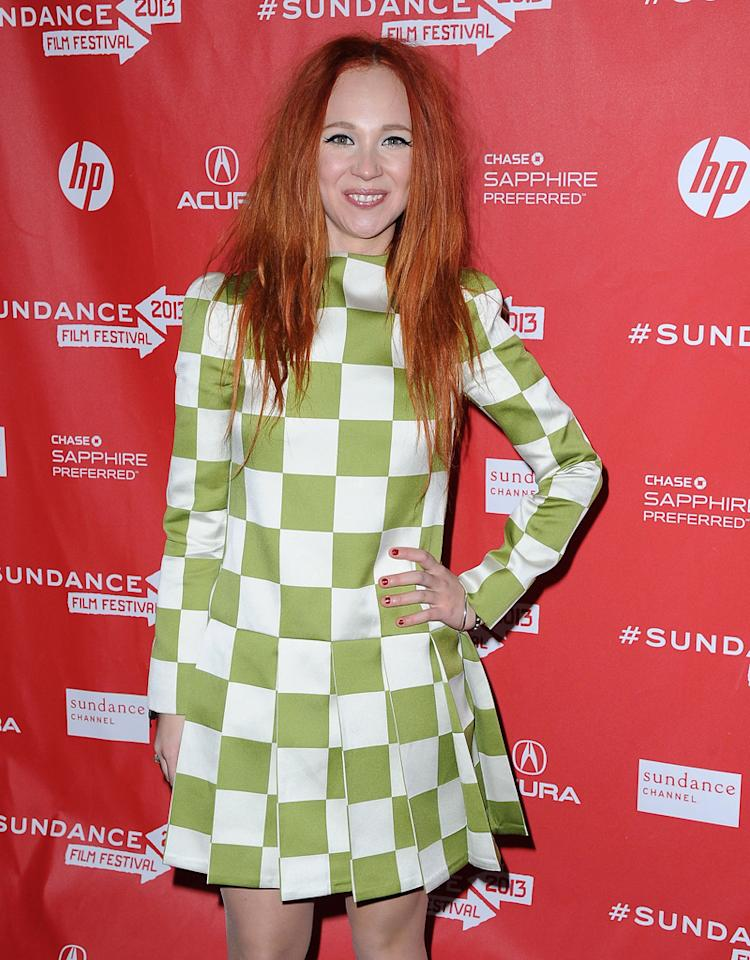 "PARK CITY, UT - JANUARY 22:  Juno Temple attends the ""Magic Magic"" premiere at the 2013 Sundance Film Festival on January 22, 2013, in Park City, Utah.  (Photo by C Flanigan/FilmMagic)"