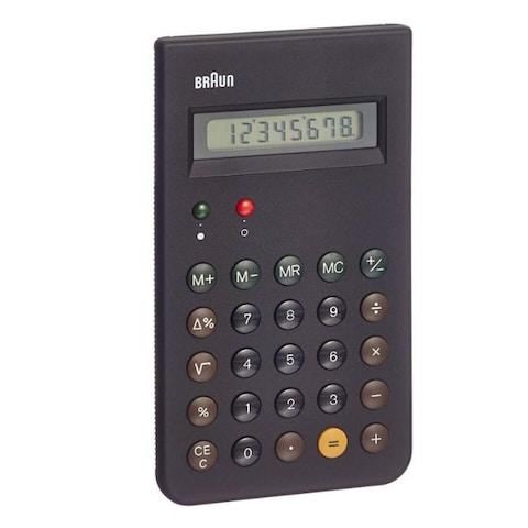 Braun Pocket Calculator - Credit: Amazon