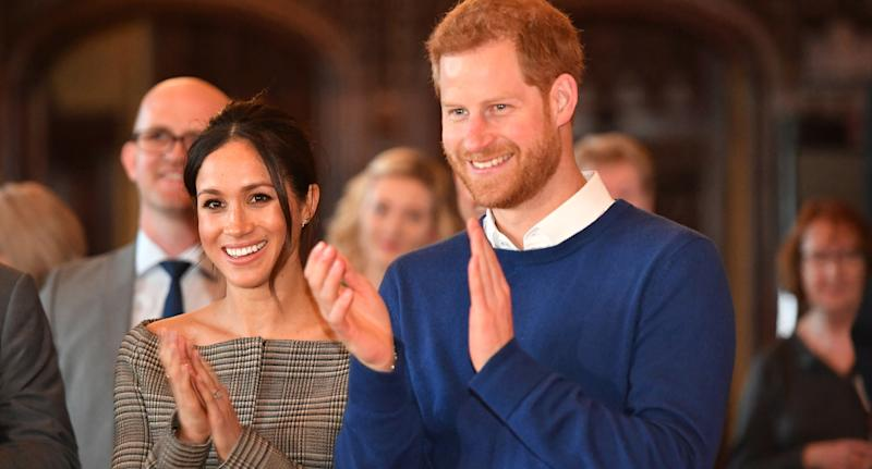 The Duke and Duchess of Sussex. (Photo by Ben Birchall - WPA Pool/Getty Images)