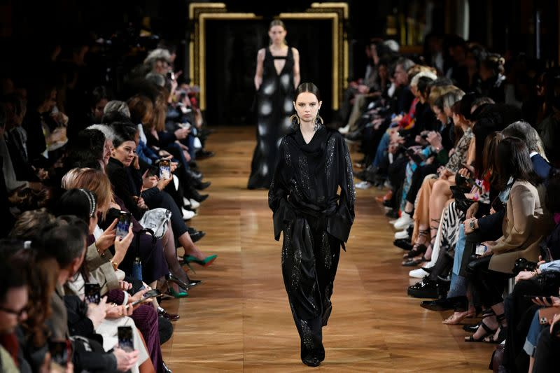 Animal mascots take to the catwalk for Stella McCartney show